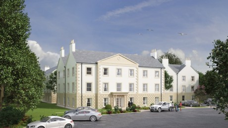 Royal Golf Hotel apartments artists impression