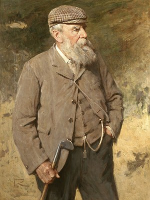 Old Tom Morris. Reproduced by kind permission of The Royal and Ancient Golf Club of St Andrews