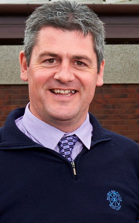 Fraser Cromarty, chairman, Highland Golf Links