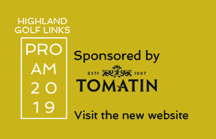 Highland Golf Links Pro Am sponsored by Tomatin